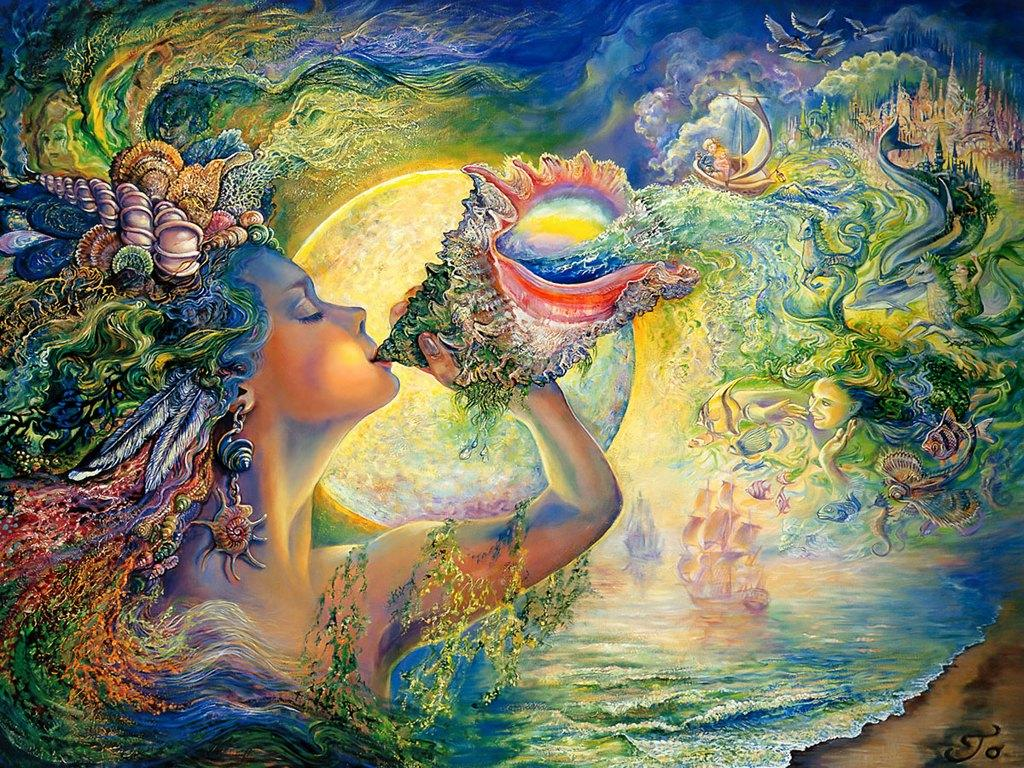 Josephine Wall Paintings – Writer and Illustrator